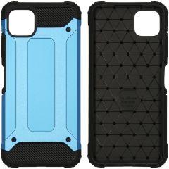 iMoshion Rugged Xtreme Backcover Samsung Galaxy A22 (5G) - Lichtblauw