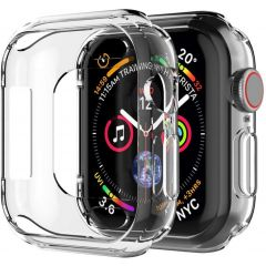 iMoshion Softcase + Screenprotector Apple Watch Serie 4-6 / SE 44 mm