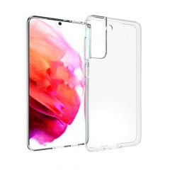 Accezz Clear Backcover Samsung Galaxy S21 FE - Transparant
