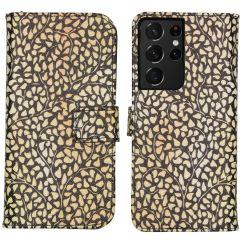 iMoshion Design Softcase Book Case Galaxy S21 Ultra - Allover de Luxe