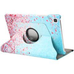 iMoshion 360° Draaibare Design Bookcase Galaxy Tab A7 - Pink Blossom