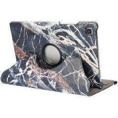 iMoshion 360° Draaibare Design Bookcase Galaxy Tab A7 - Black Marble