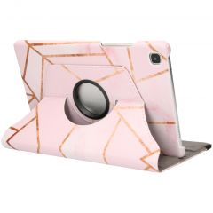 iMoshion 360° Draaibare Design Bookcase Galaxy Tab A7 - Pink Graphic