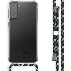 iMoshion Backcover met koord Samsung Galaxy S21 FE - Groen