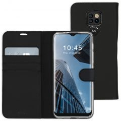 Accezz Wallet Softcase Booktype Motorola Moto E7 Plus / G9 Play - Zwart