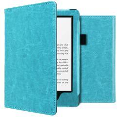 iMoshion Vegan Leather Booktype Amazon Kindle 10 - Lichtblauw