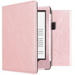 iMoshion Vegan Leather Booktype Amazon Kindle 10 - Rosé Goud