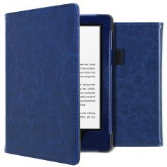 iMoshion Vegan Leather Booktype Amazon Kindle 10 - Donkerblauw