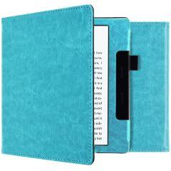 iMoshion Vegan Leather Booktype Amazon Kindle Oasis 3 - Lichtblauw