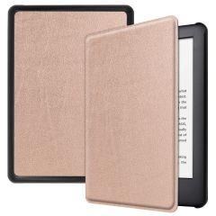 iMoshion Slim Hard Case Booktype Amazon Kindle 10 - Rosé Goud