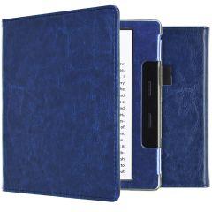 iMoshion Vegan Leather Booktype Amazon Kindle Oasis 3 - Donkerblauw