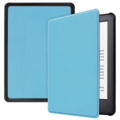 iMoshion Slim Hard Case Booktype Amazon Kindle 10 - Lichtblauw