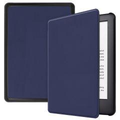 iMoshion Slim Hard Case Booktype Amazon Kindle 10 - Donkerblauw