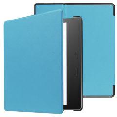 iMoshion Slim Hard Case Booktype Amazon Kindle Oasis 3 - Lichtblauw