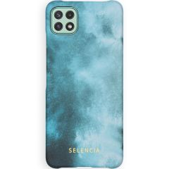 Selencia Maya Fashion Backcover Samsung Galaxy A22 (5G) - Air Blue