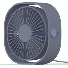 iMoshion USB Bureau Ventilator - Blauw
