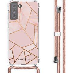 iMoshion Design hoesje met koord Galaxy S21 FE - Grafisch Koper