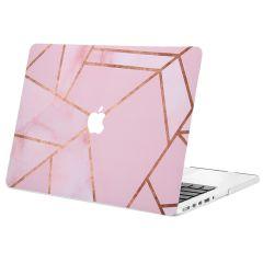 iMoshion Design Laptop Cover MacBook Pro 13 inch Retina -Pink Graphic
