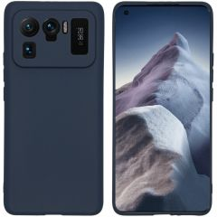 iMoshion Color Backcover Xiaomi Mi 11 Ultra - Donkerblauw