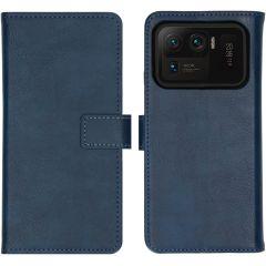 iMoshion Luxe Booktype Xiaomi Mi 11 Ultra - Donkerblauw