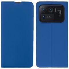iMoshion Slim Folio Book Case Xiaomi Mi 11 Ultra - Blauw