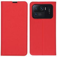 iMoshion Slim Folio Book Case Xiaomi Mi 11 Ultra - Rood