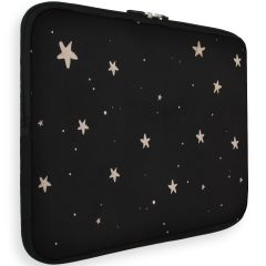 iMoshion Universele Design Sleeve 13 inch - Stars Gold