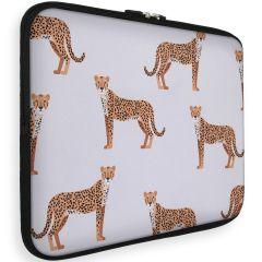 iMoshion Universele Design Sleeve 15 inch - Cheetah