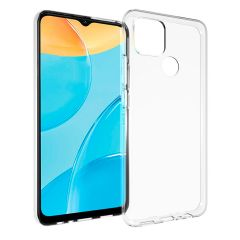 Accezz Clear Backcover Oppo A15 - Transparant