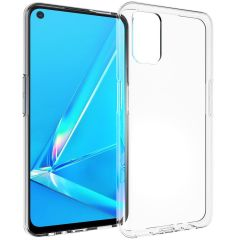 Accezz Clear Backcover Oppo A52 / A72 / A92 - Transparant
