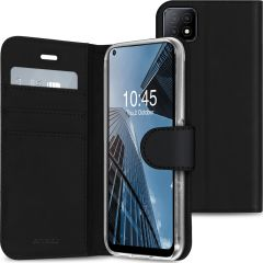 Accezz Wallet Softcase Booktype Oppo A53 / A53s - Zwart