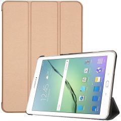 iMoshion Trifold Bookcase Samsung Galaxy Tab S2 9.7 - Goud