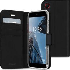 Accezz Wallet Softcase Booktype Samsung Galaxy Xcover 5 - Zwart