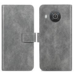 iMoshion Luxe Booktype Nokia X10 / X20 - Grijs