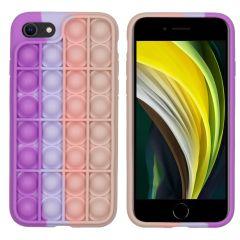 iMoshion Pop It Fidget Toy - Pop It hoesje iPhone SE (2020) / 8 / 7