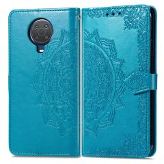 iMoshion Mandala Booktype Nokia G10 / G20 - Turquoise