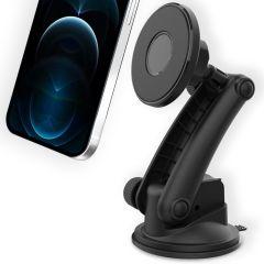 Accezz MagSafe telefoonhouder auto - Dashboard / Voorruit - Zwart