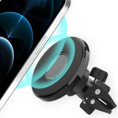 Accezz MagSafe telefoonhouder auto - Ventilatierooster - Zwart