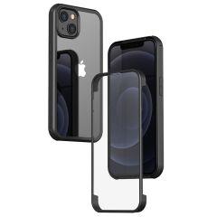 Valenta Full Cover 360°  Tempered Glass iPhone 13 Pro Max - Zwart