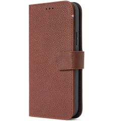 Decoded 2 in 1 Leather Detachable Wallet iPhone 13 Mini - Bruin