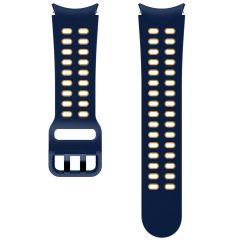 Samsung Extreme Sport Band S/M Galaxy Watch / Watch 3 / Watch 4 / Active 2 / Classic 4 : 40-41-42-44mm - Blauw