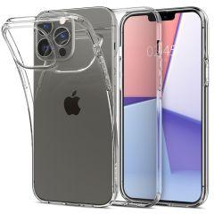 Spigen Liquid Crystal Backcover iPhone 13 Pro - Transparant
