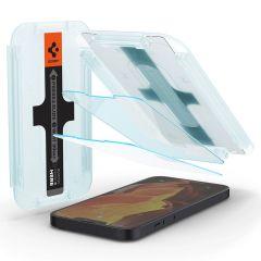 Spigen GLAStR EZ Fit Screenprotector + Applicator iPhone 13 / 13 Pro