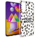 iMoshion Design hoesje Samsung Galaxy M31s - Luipaard - Bruin / Zwart